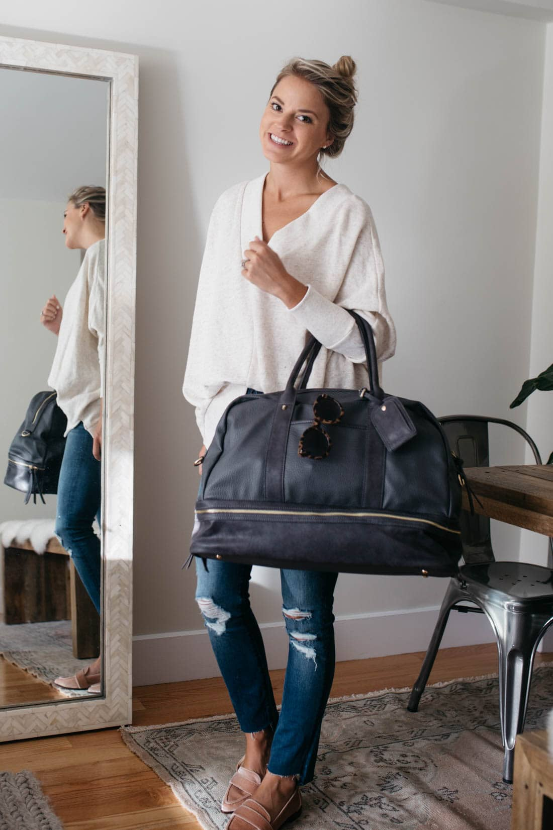 Weekender Travel Bag Styled Snapshots
