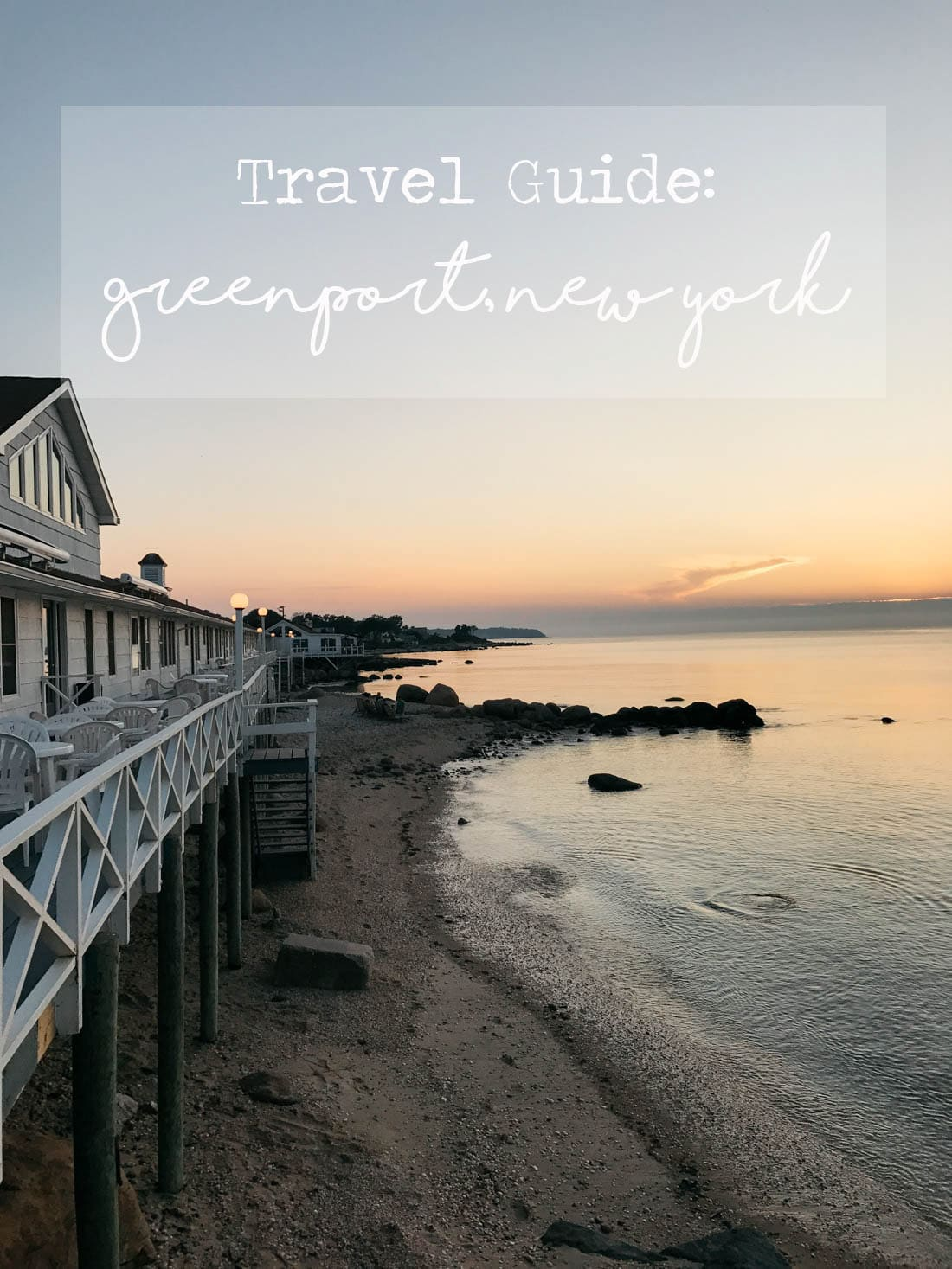 Greenport New York Travel Guide