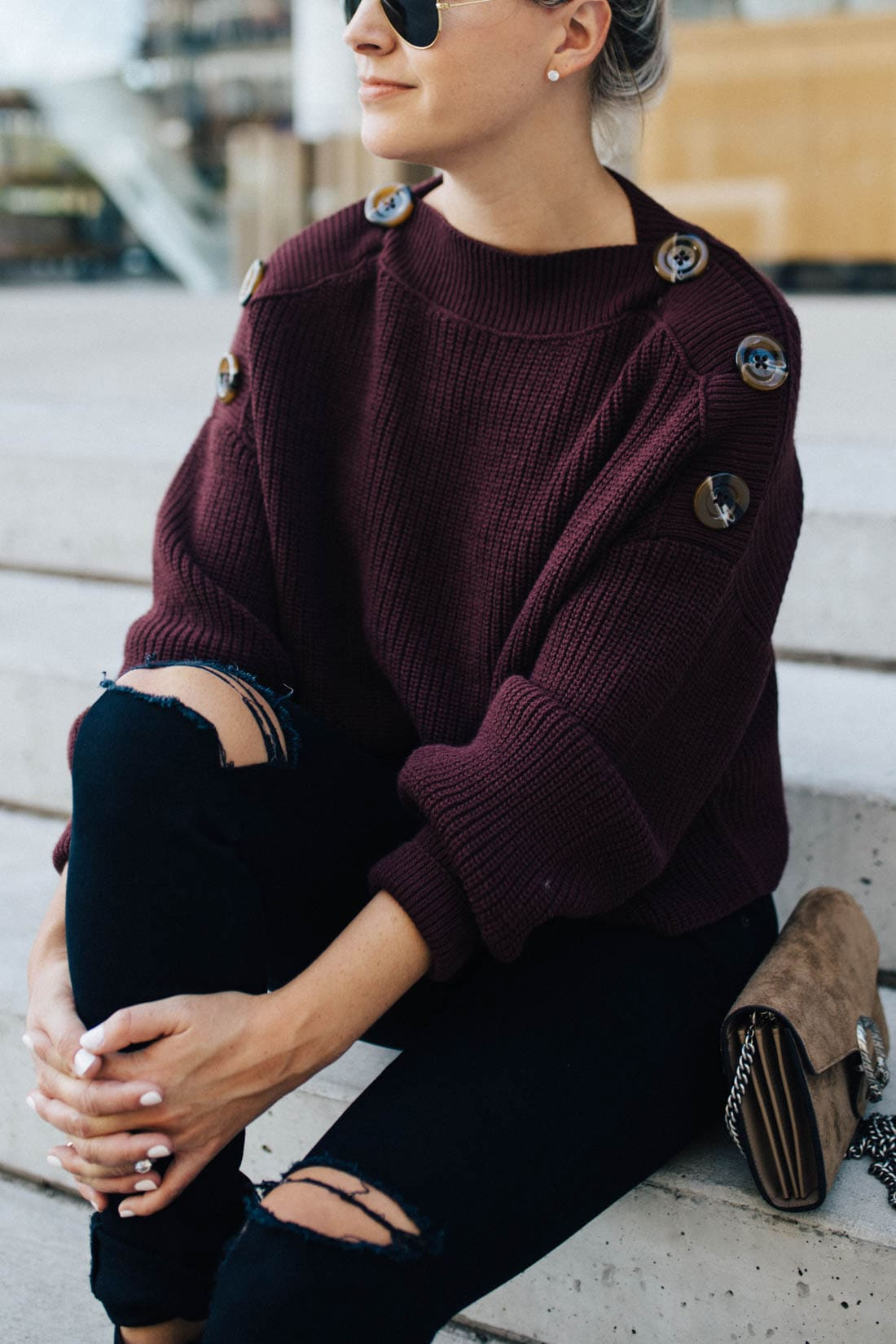 Cabernet Knit Sweater