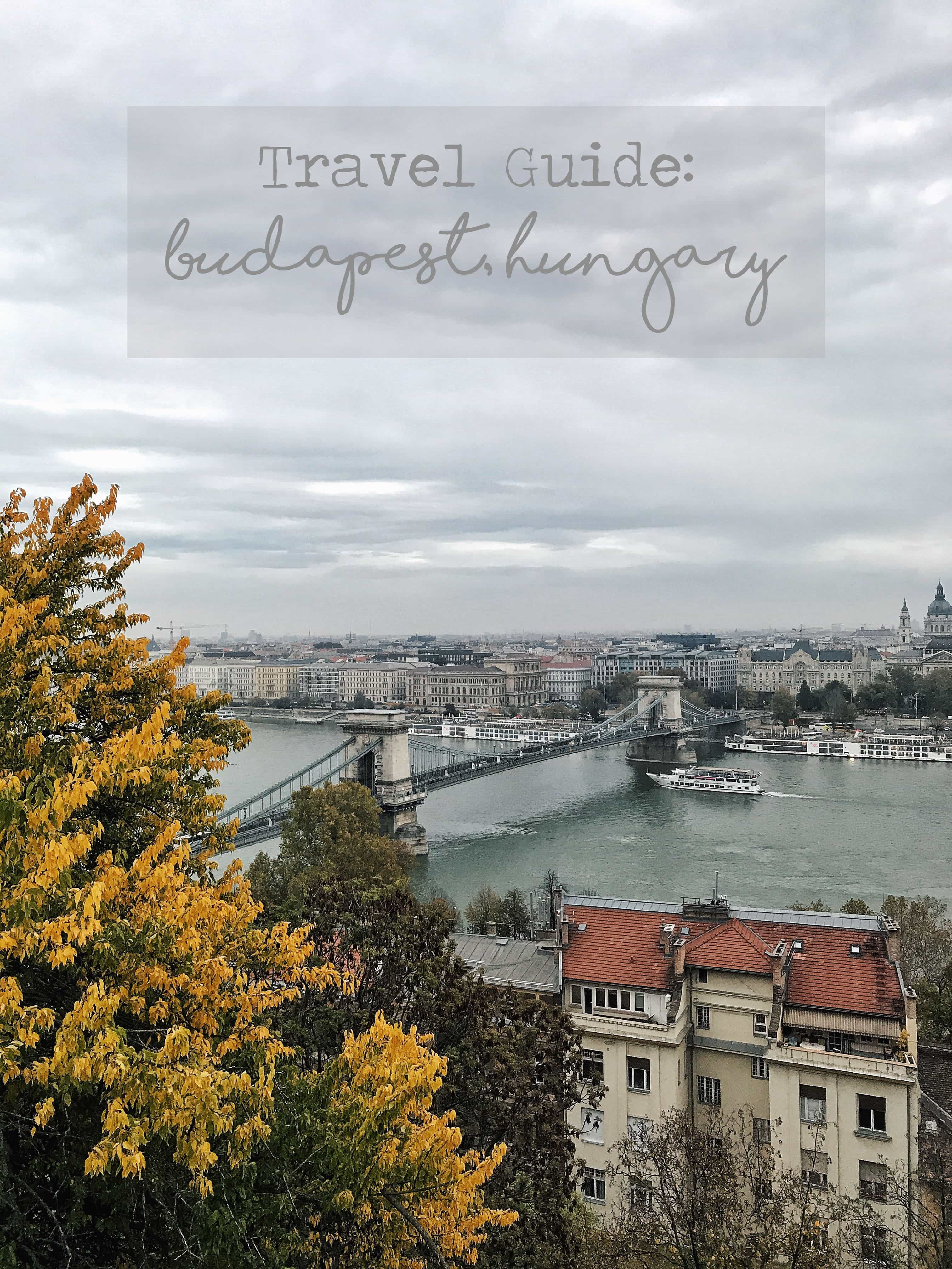 Travel Guide Budapest