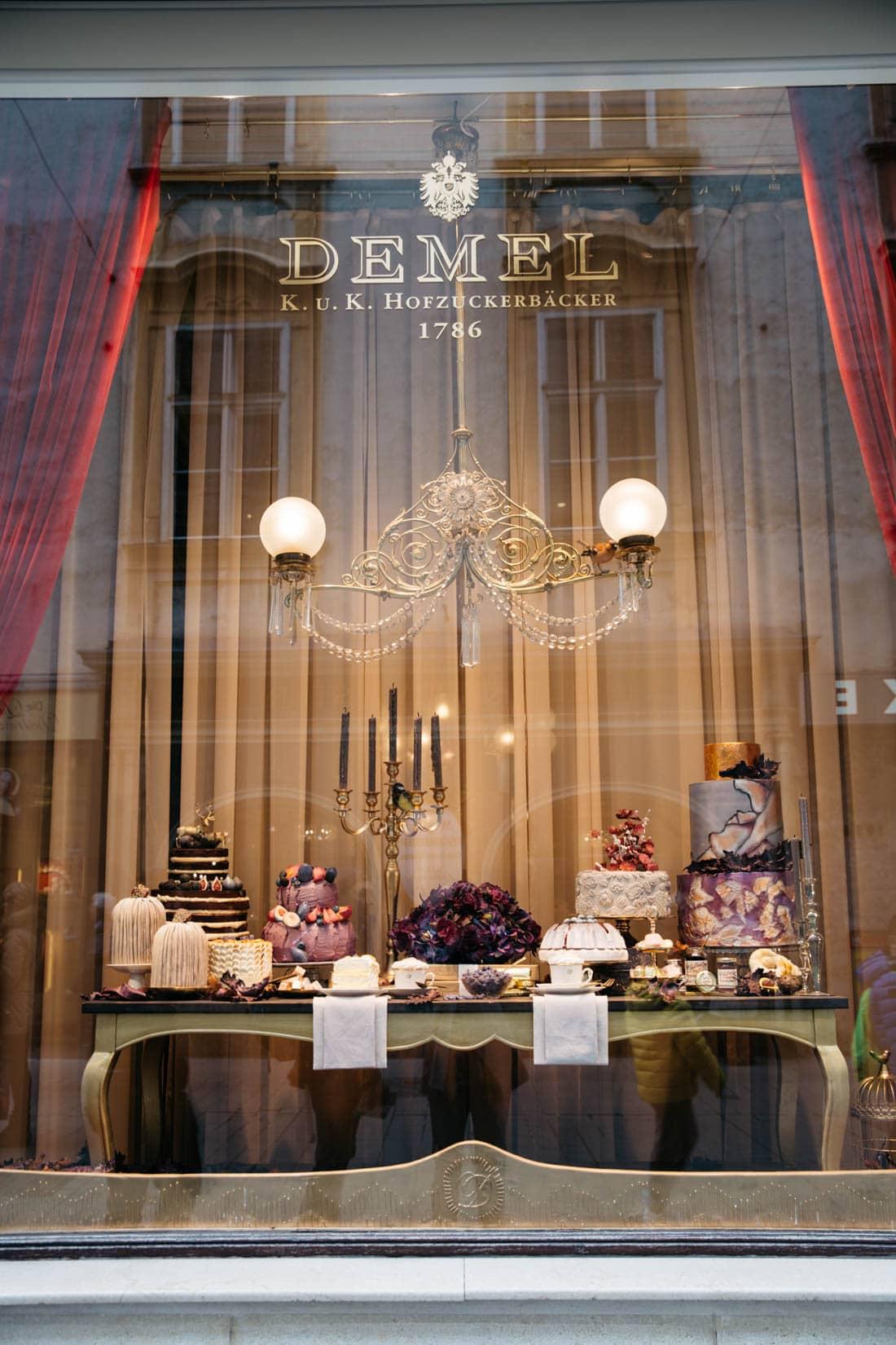 Demel Shop Vienna