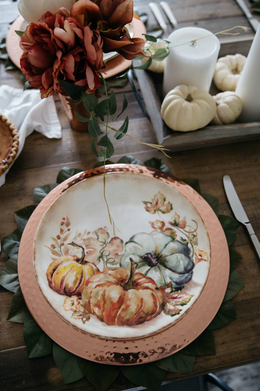 Pier 1 Harvest Tablescape