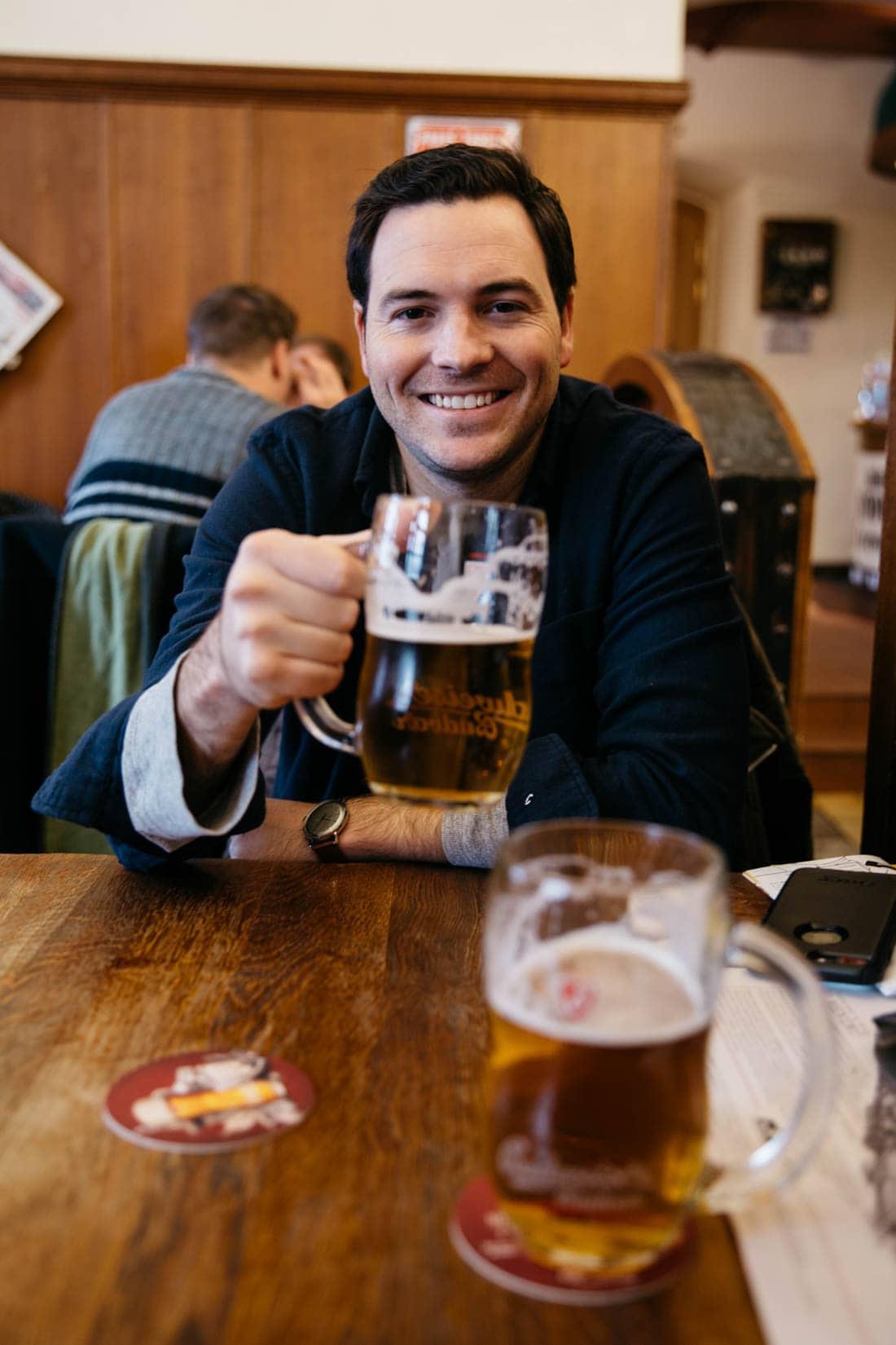 Beer Hall Prague