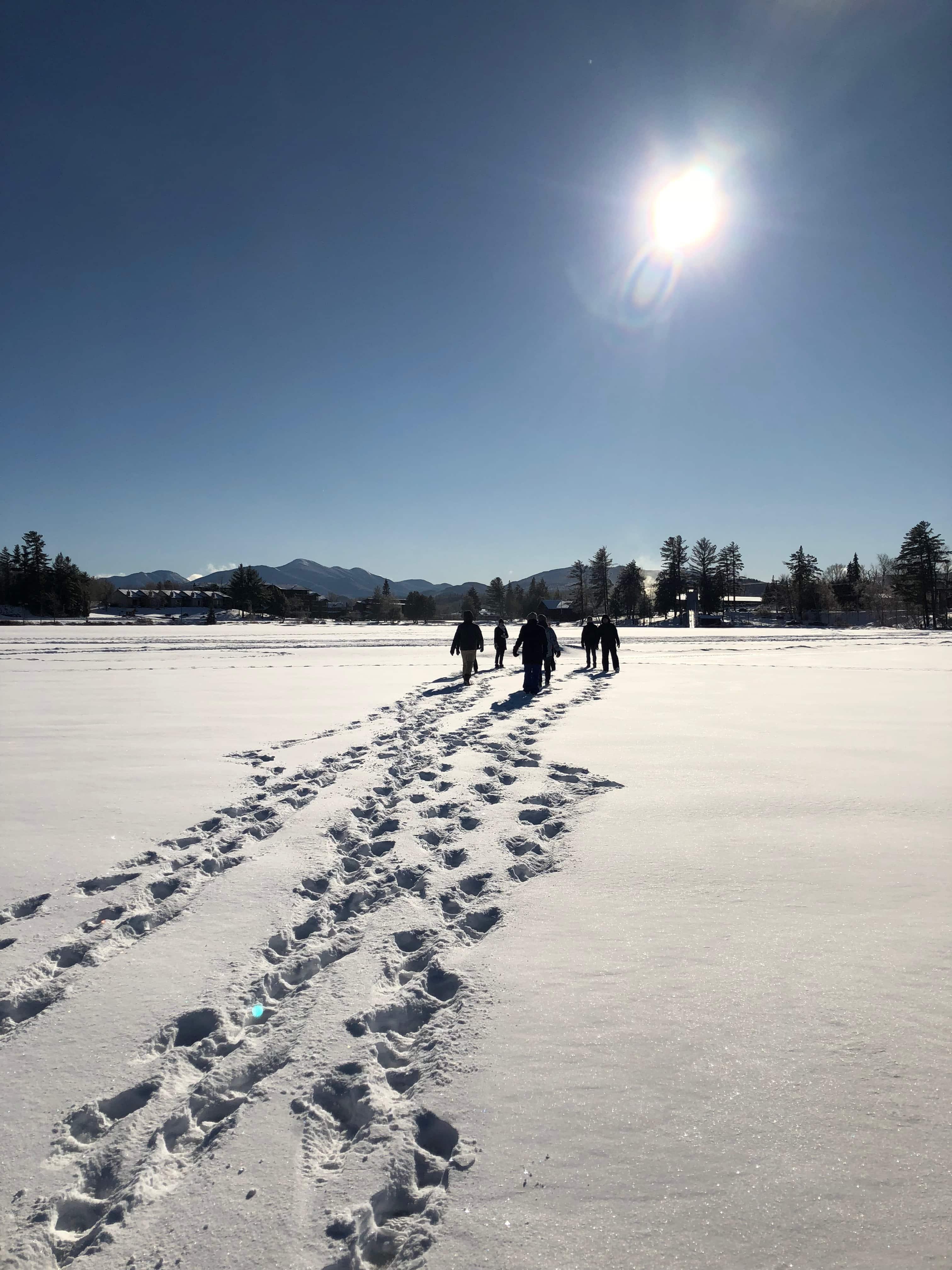 winter in lake placid