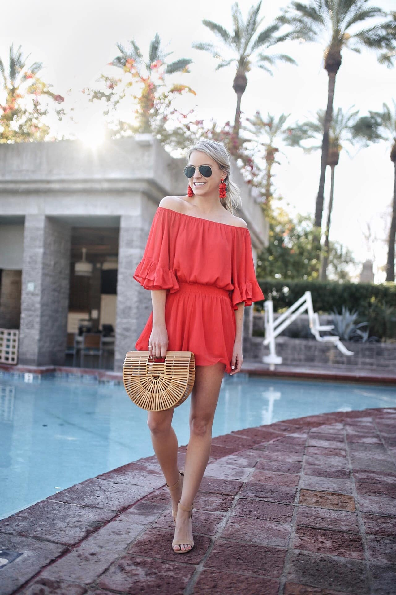 Endless Rose x REVOLVE Ruffled Sleeve Romper