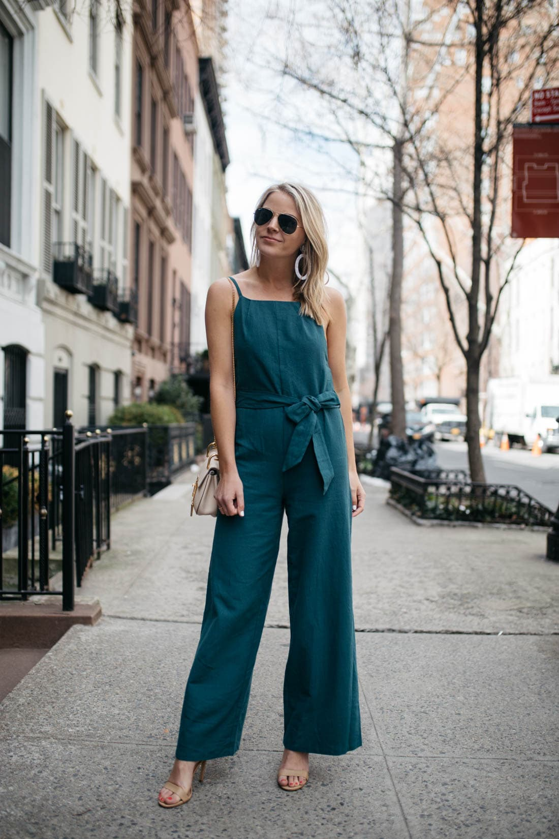 Line and Dot Jumpsuit
