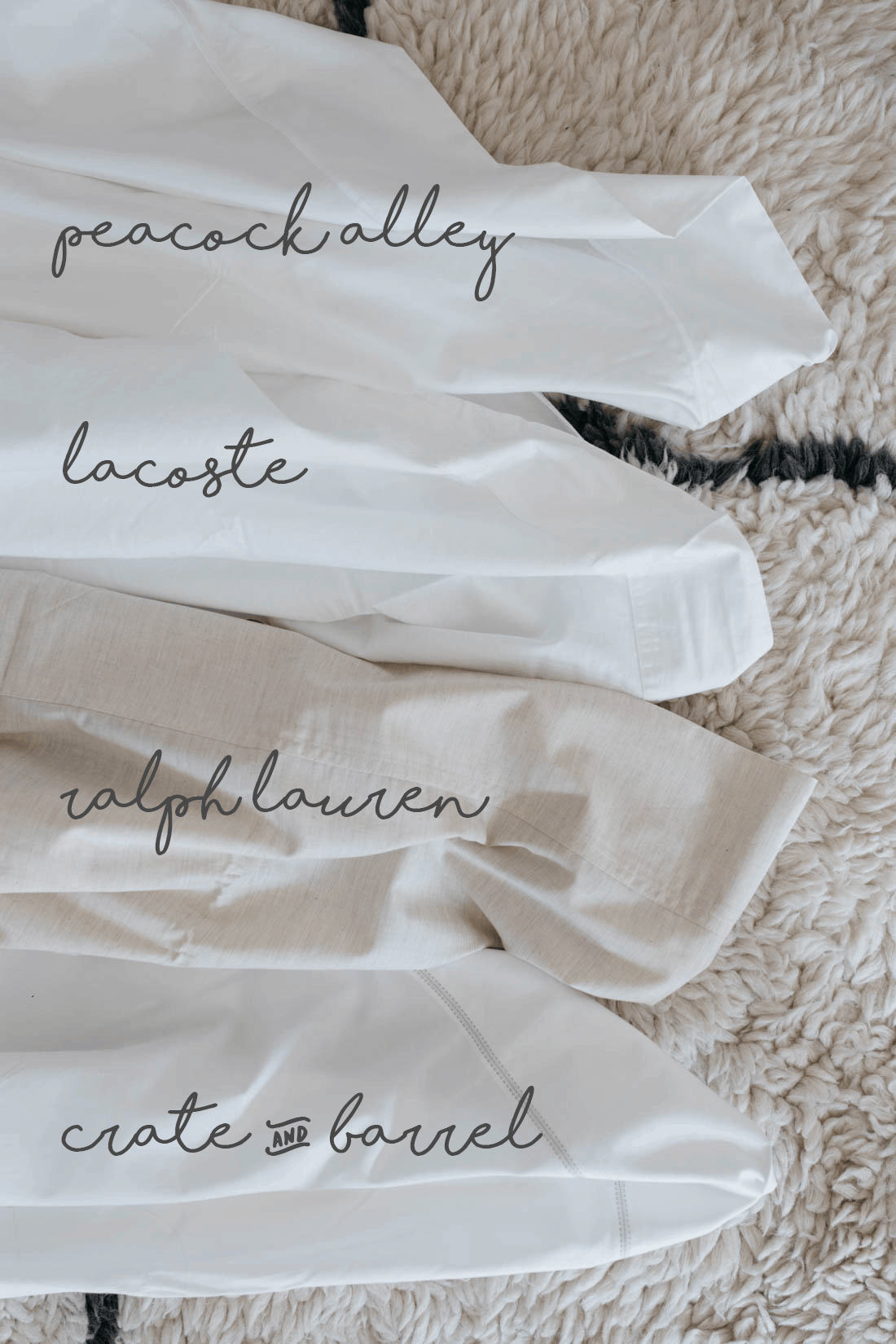 Parcale vs. Sateen Sheets