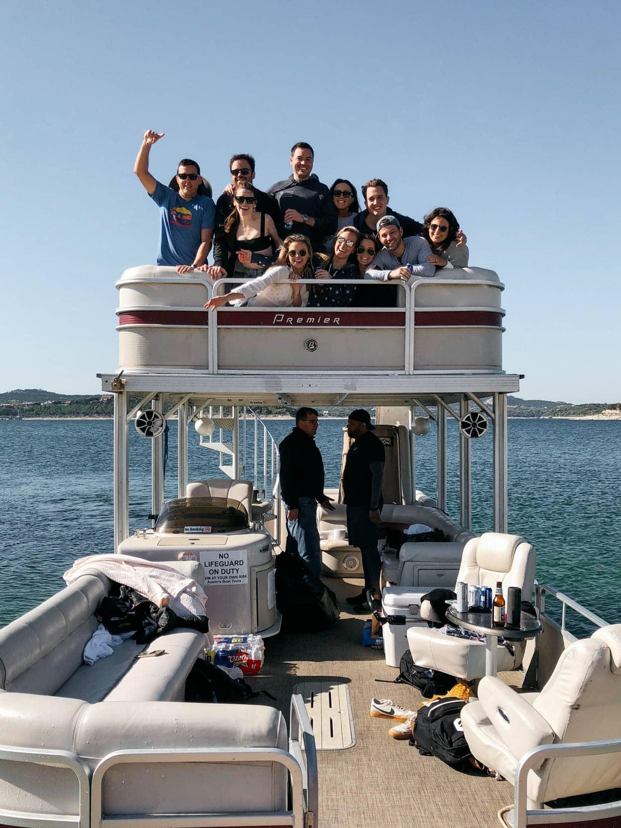 Lake Travis Boat