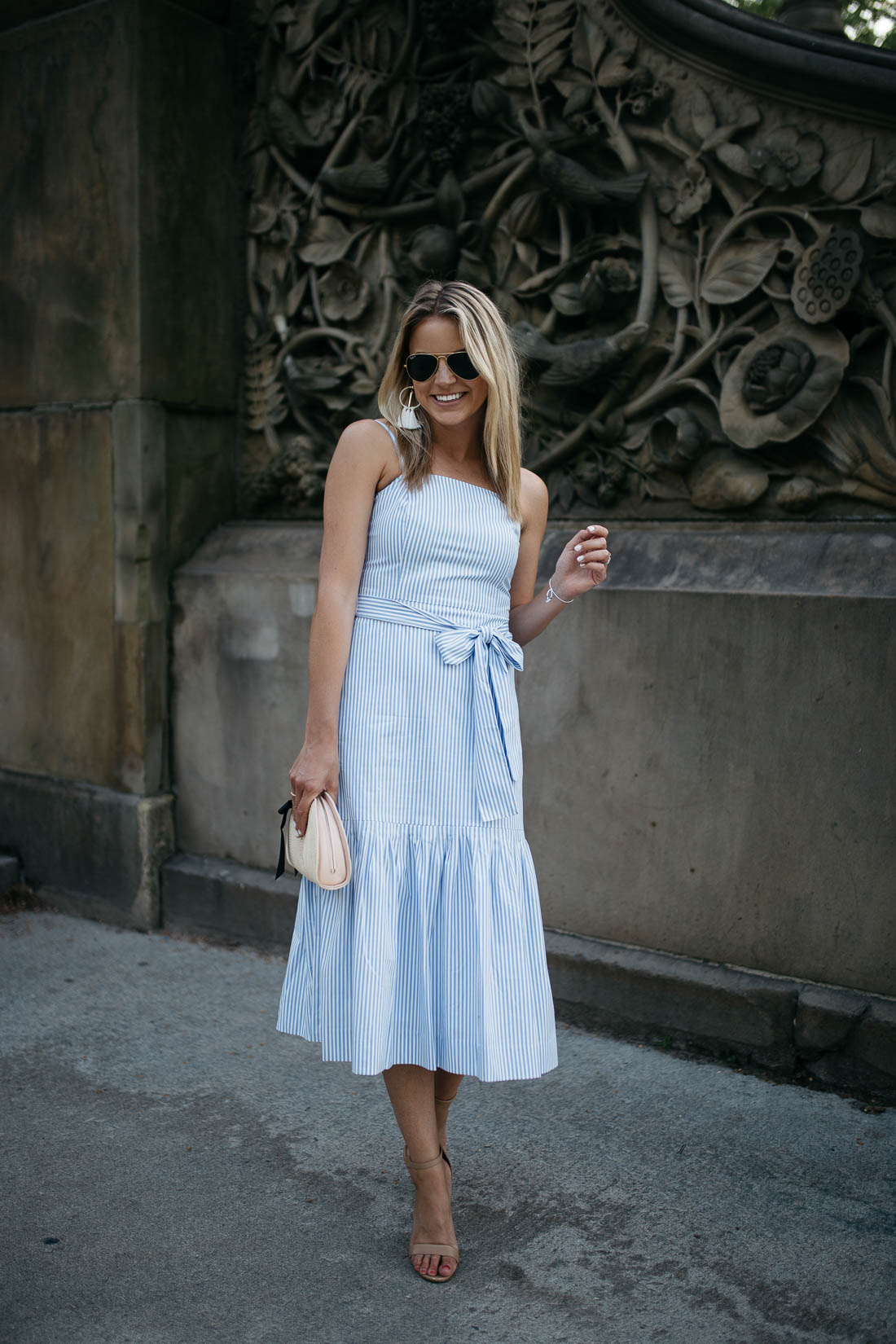 the perfect midi dress