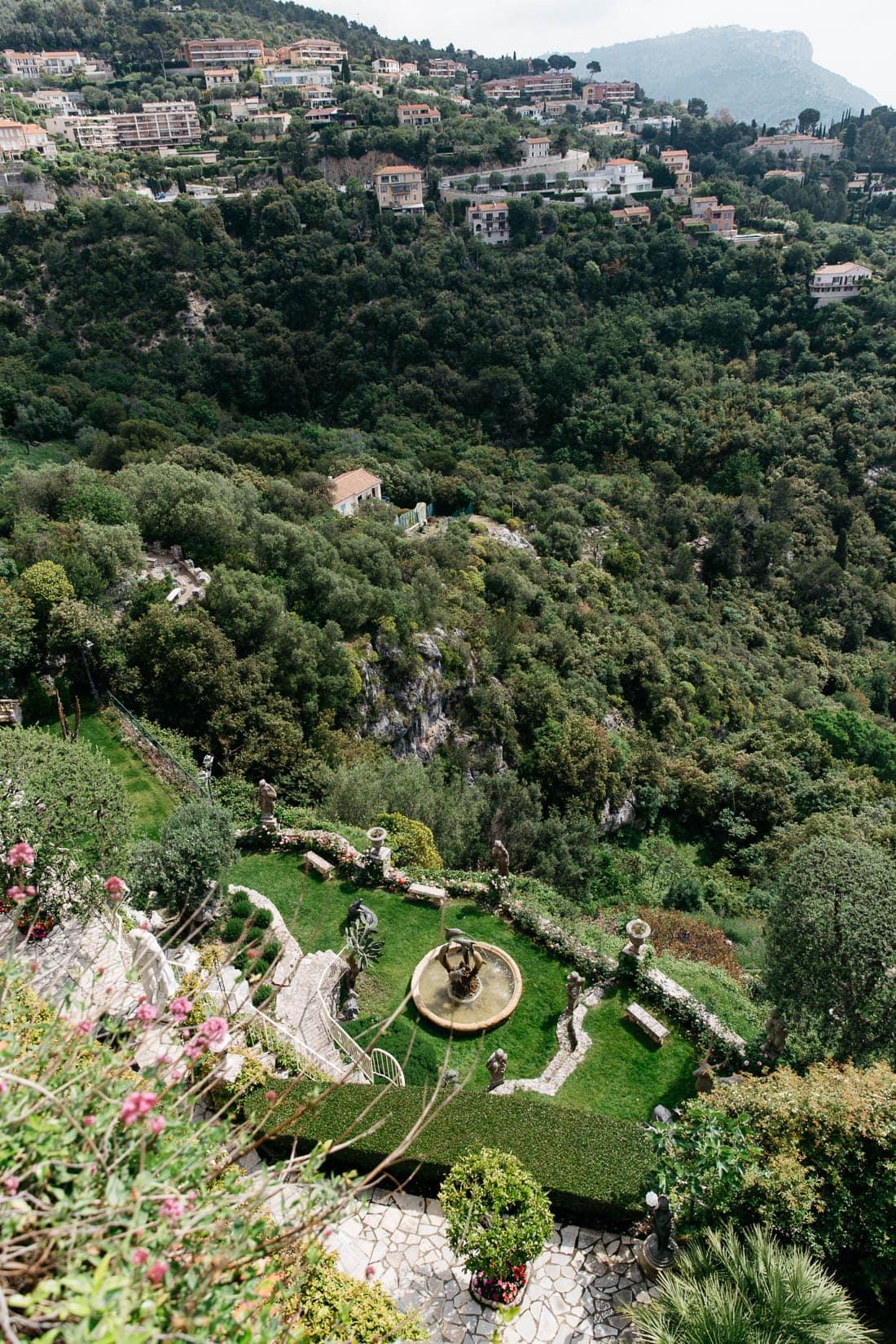 Gardens in Eze