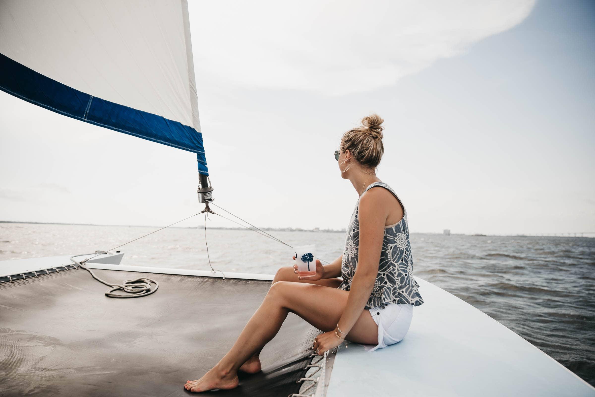 Private Charter Sailboat Charleston