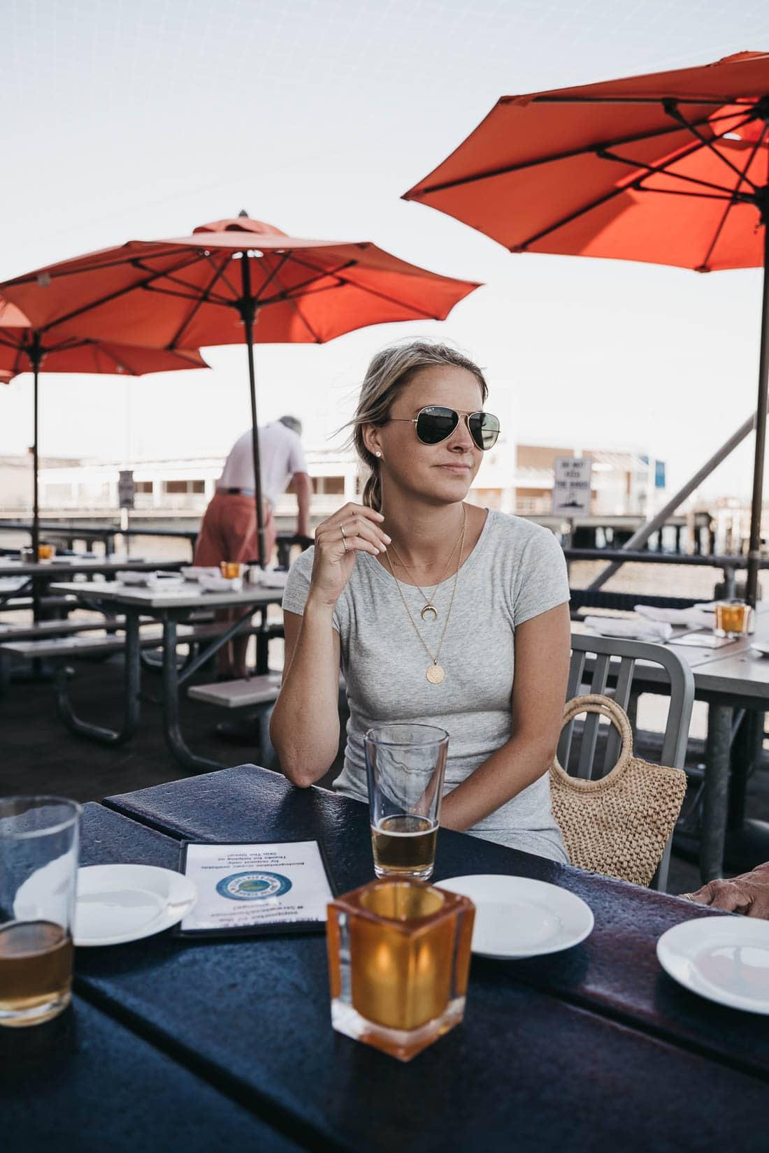 Outdoor restaurants in Charleston