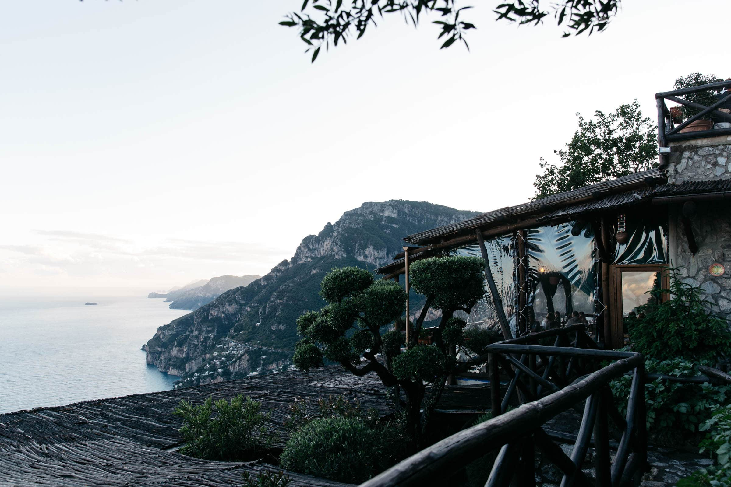 Where to watch the sunset Positano