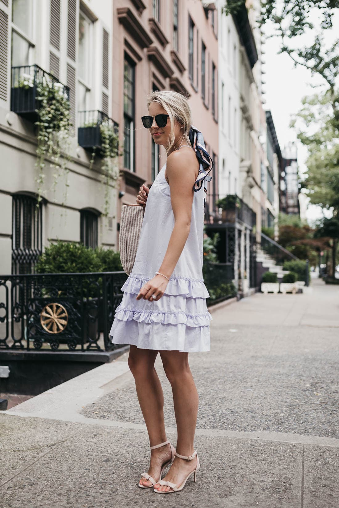 Rebecca Taylor Sleeveless Cotton Tank Dress