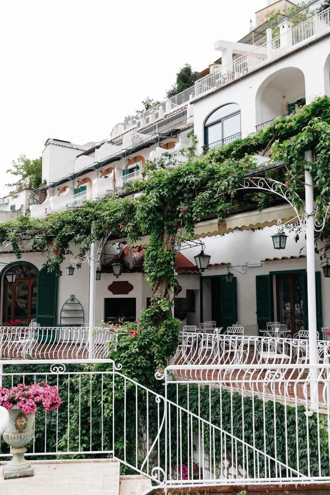 Best hotels in Positano