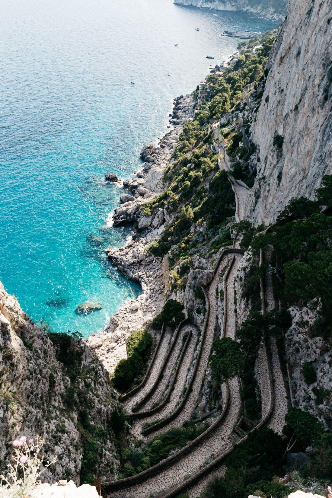 Capri On A Budget