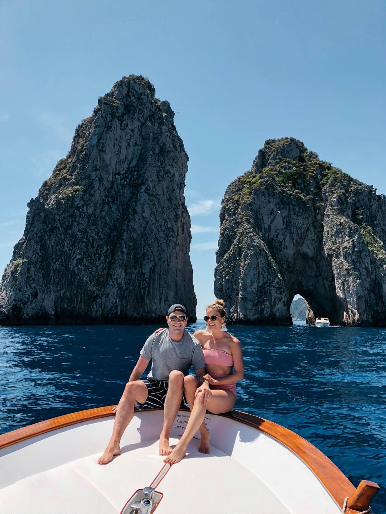 Charter a boat in Capri