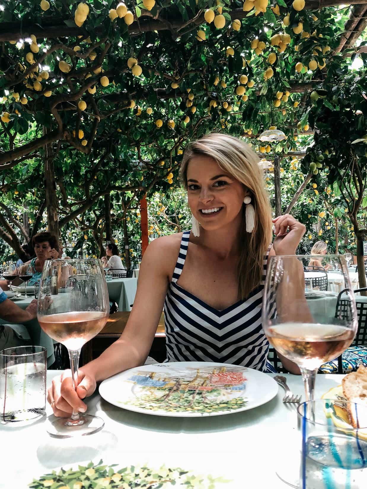 Lemon Tree Restaurant Capri