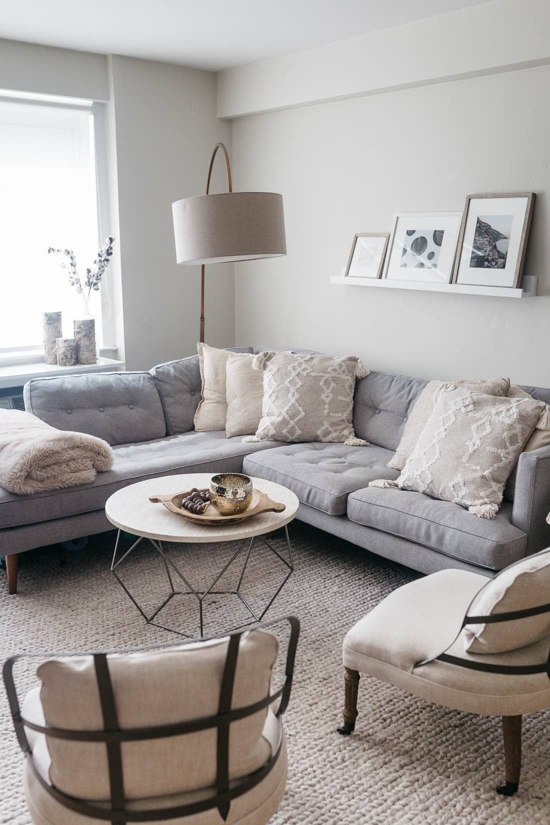 Chic Living Room: BEDROOM INTERIOR UPDATE