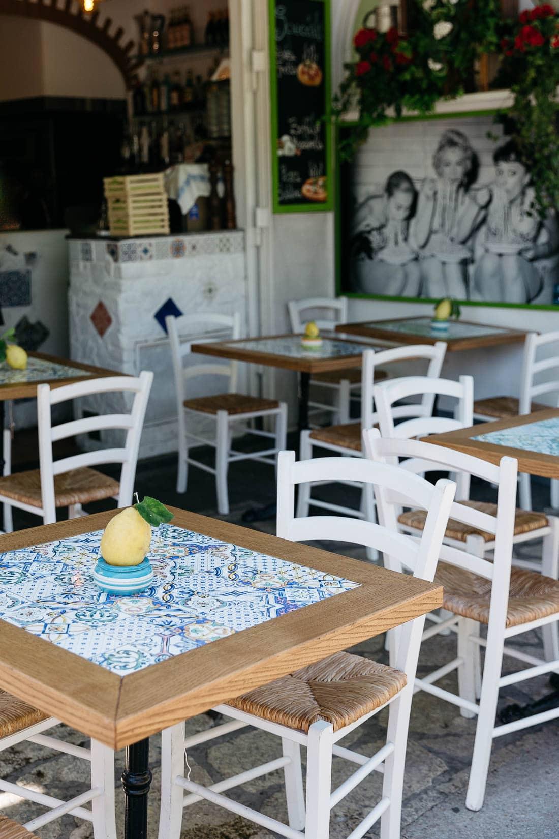 Anacapri Restaurants