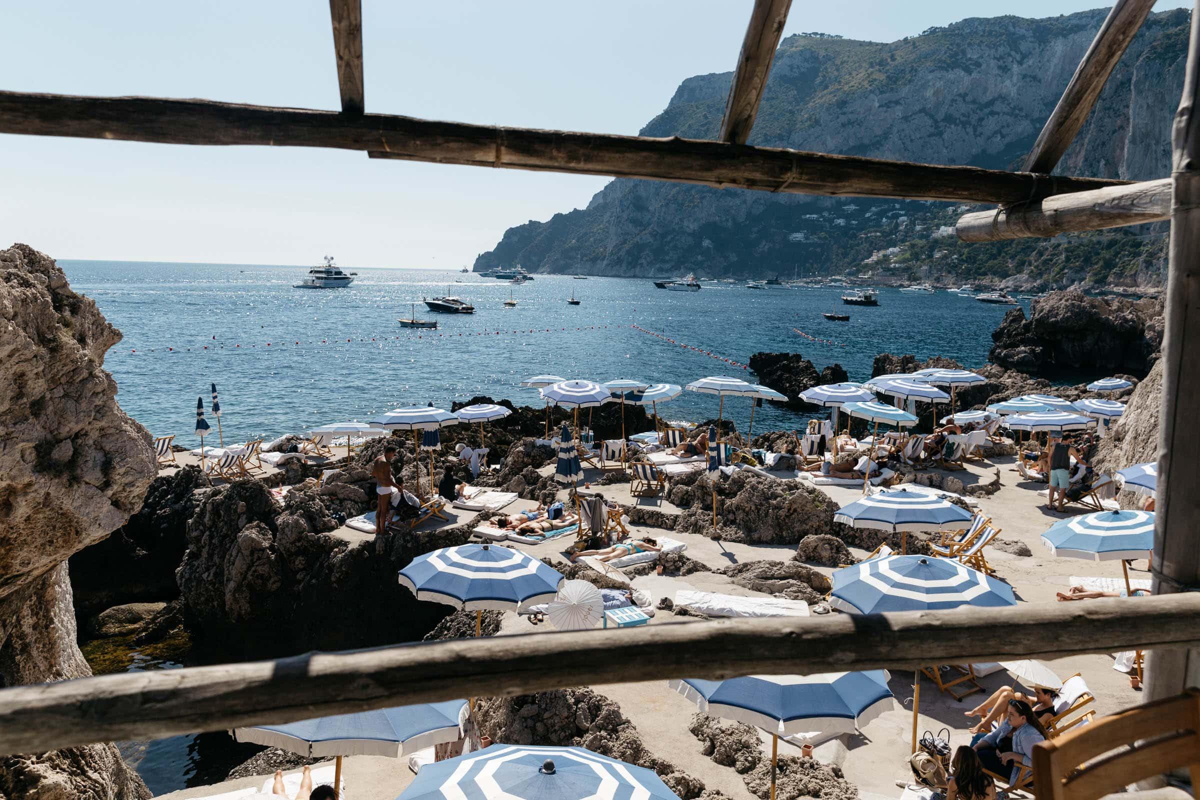 Best beach club in Capri
