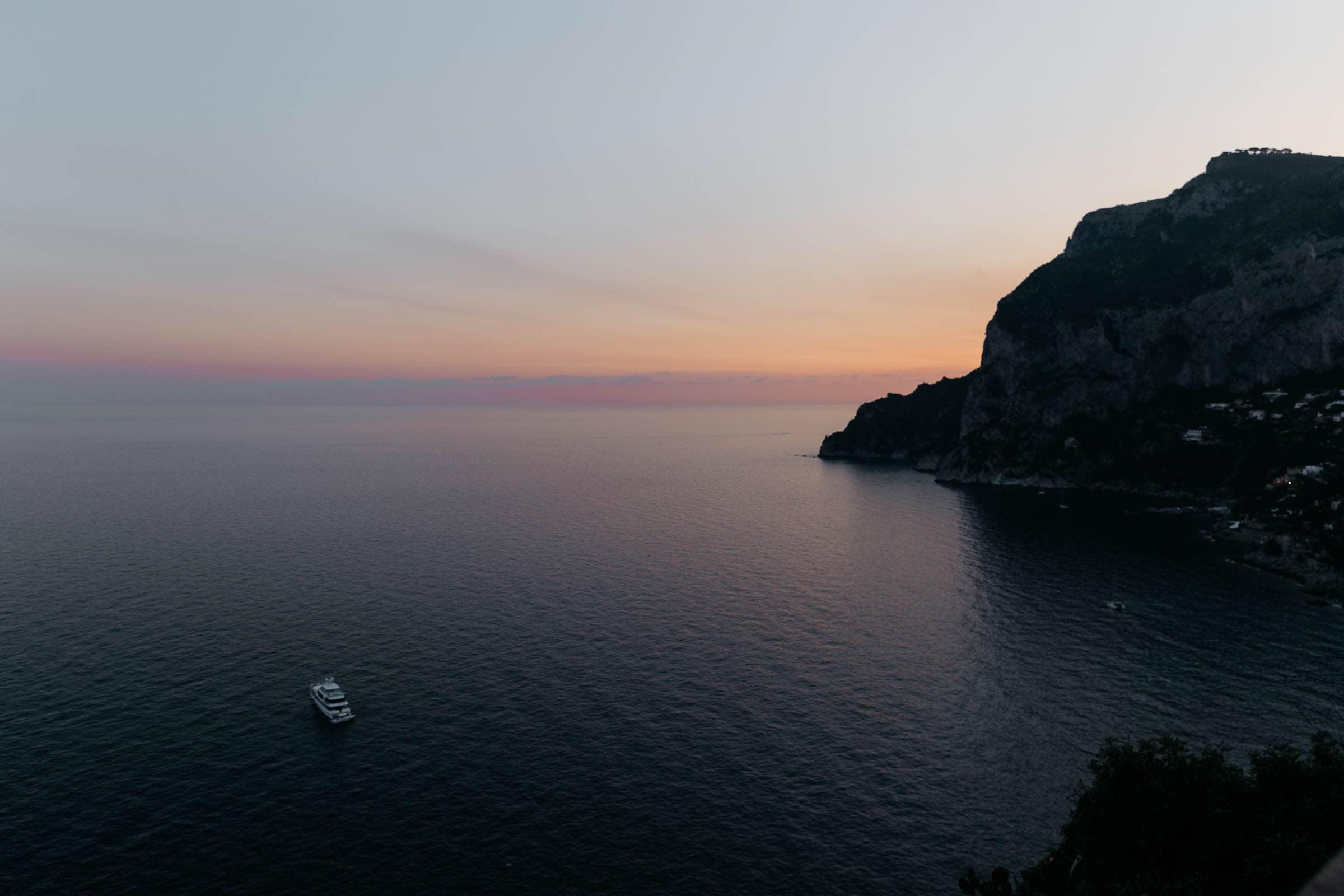 Capri sunsets