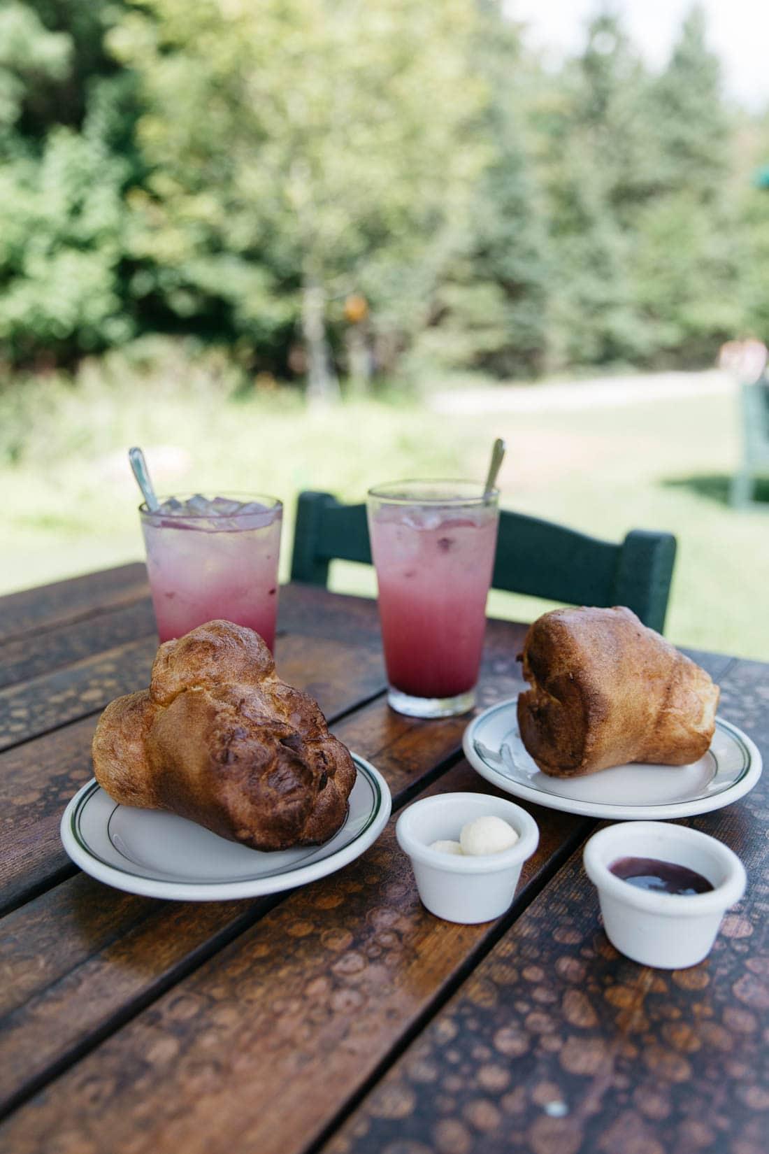 Jordan's Pond Restaurant Popovers