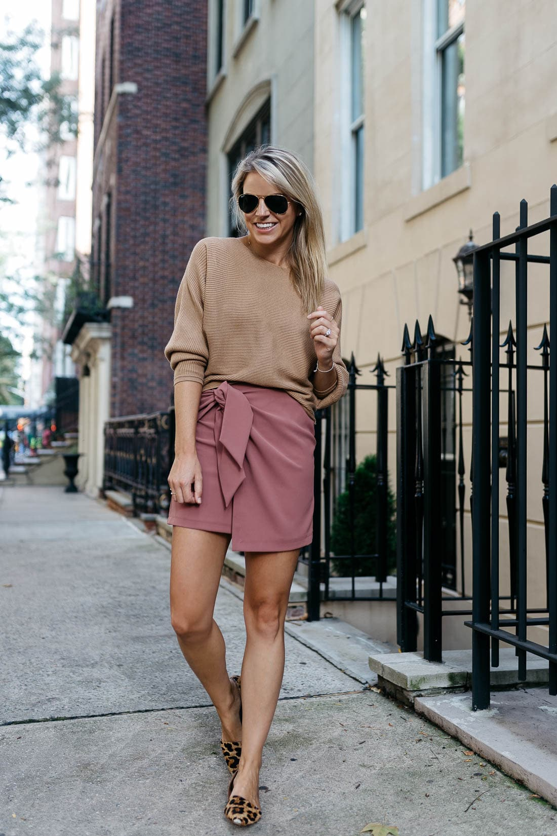 cba5d89cd0fe As August cruises by, I have been starting to look for pieces that can  transition easily into fall. Wrap skirts have been high on my list and  there are so ...