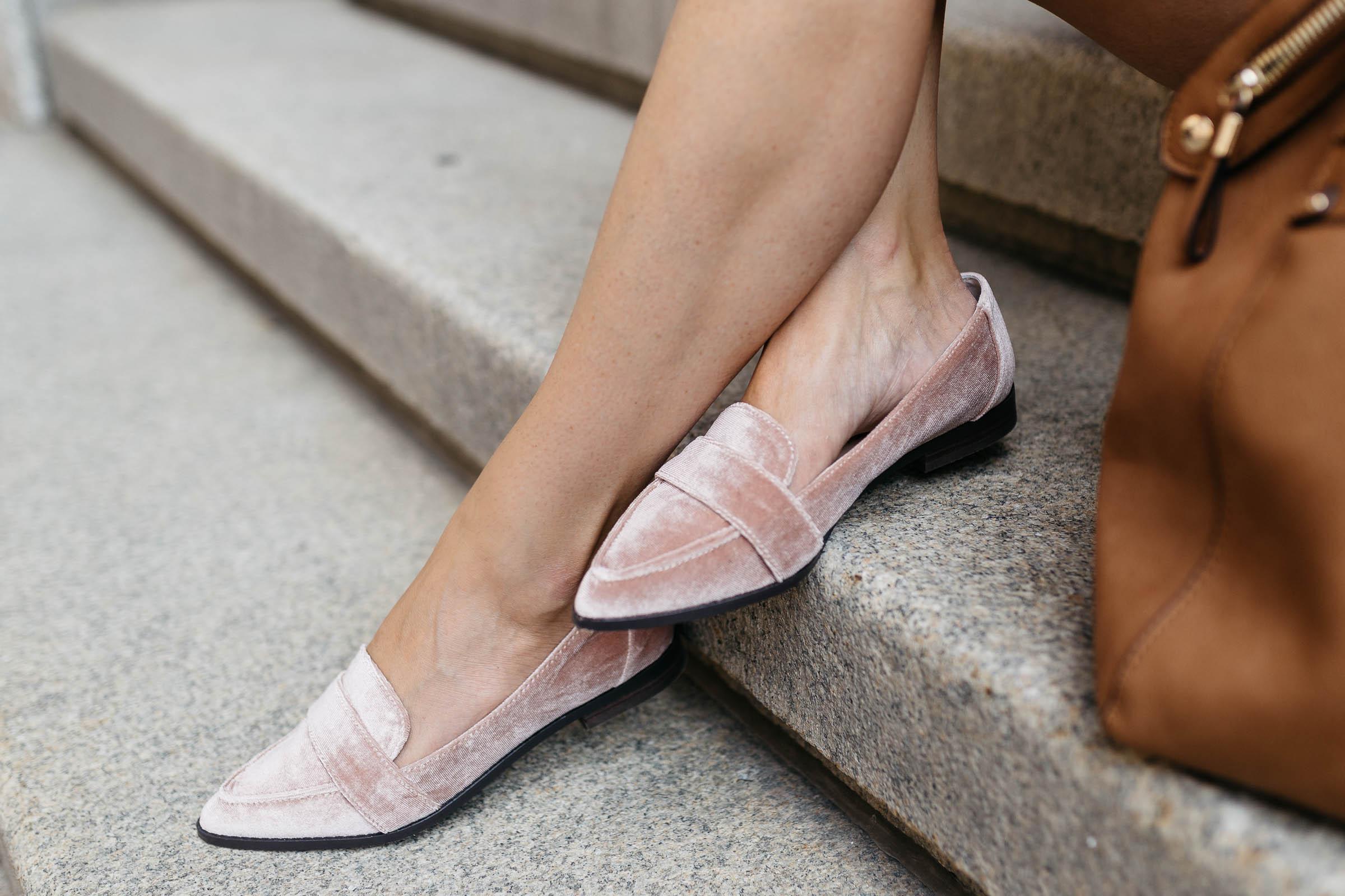 velvet smoking slippers