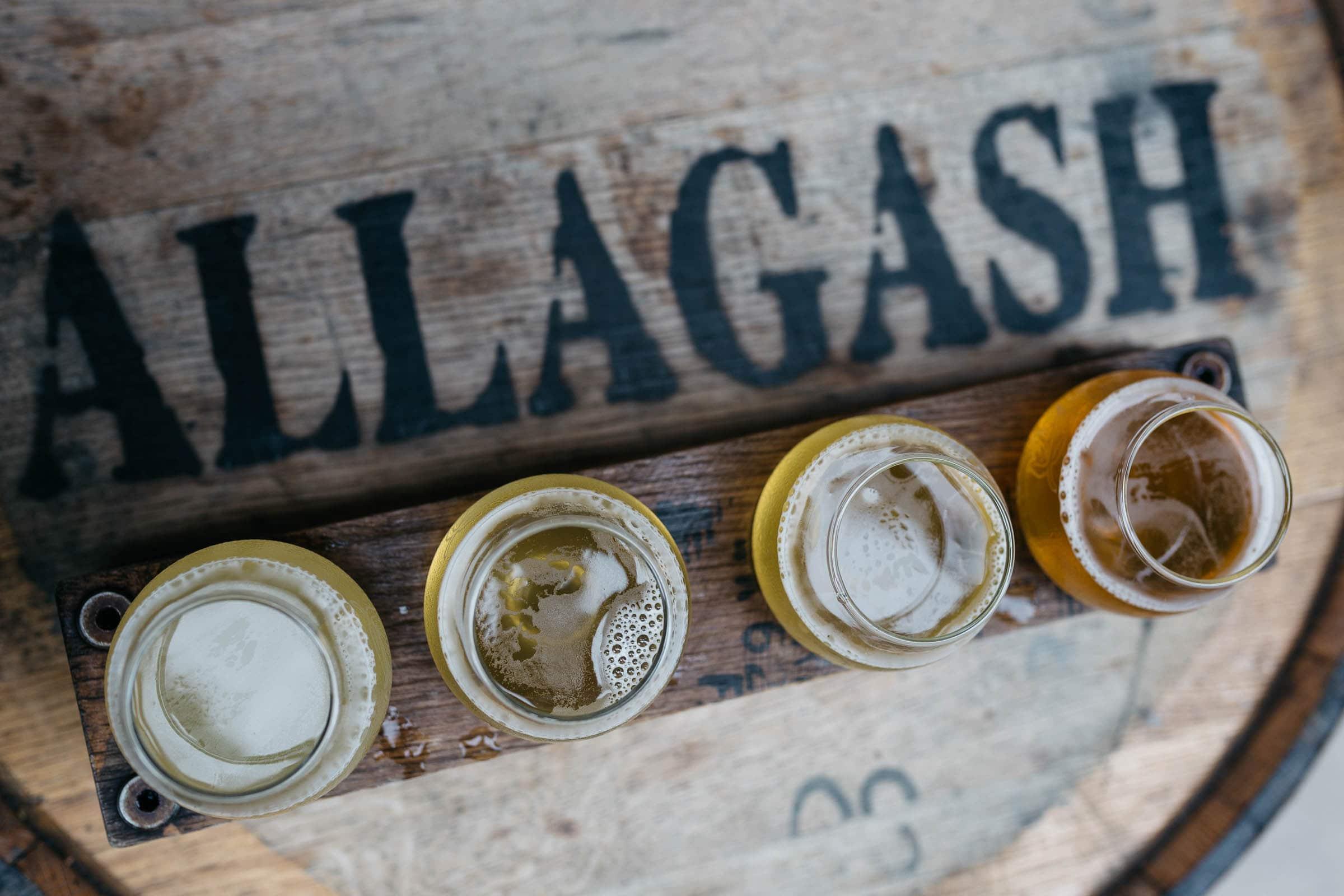 Allagash Brewery Portland Maine