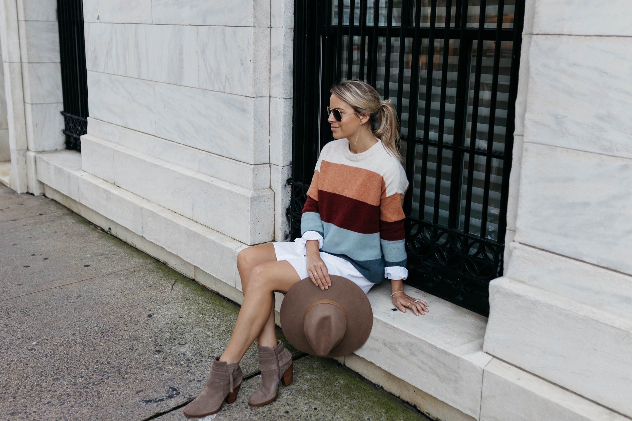Madewell Striped Sweater