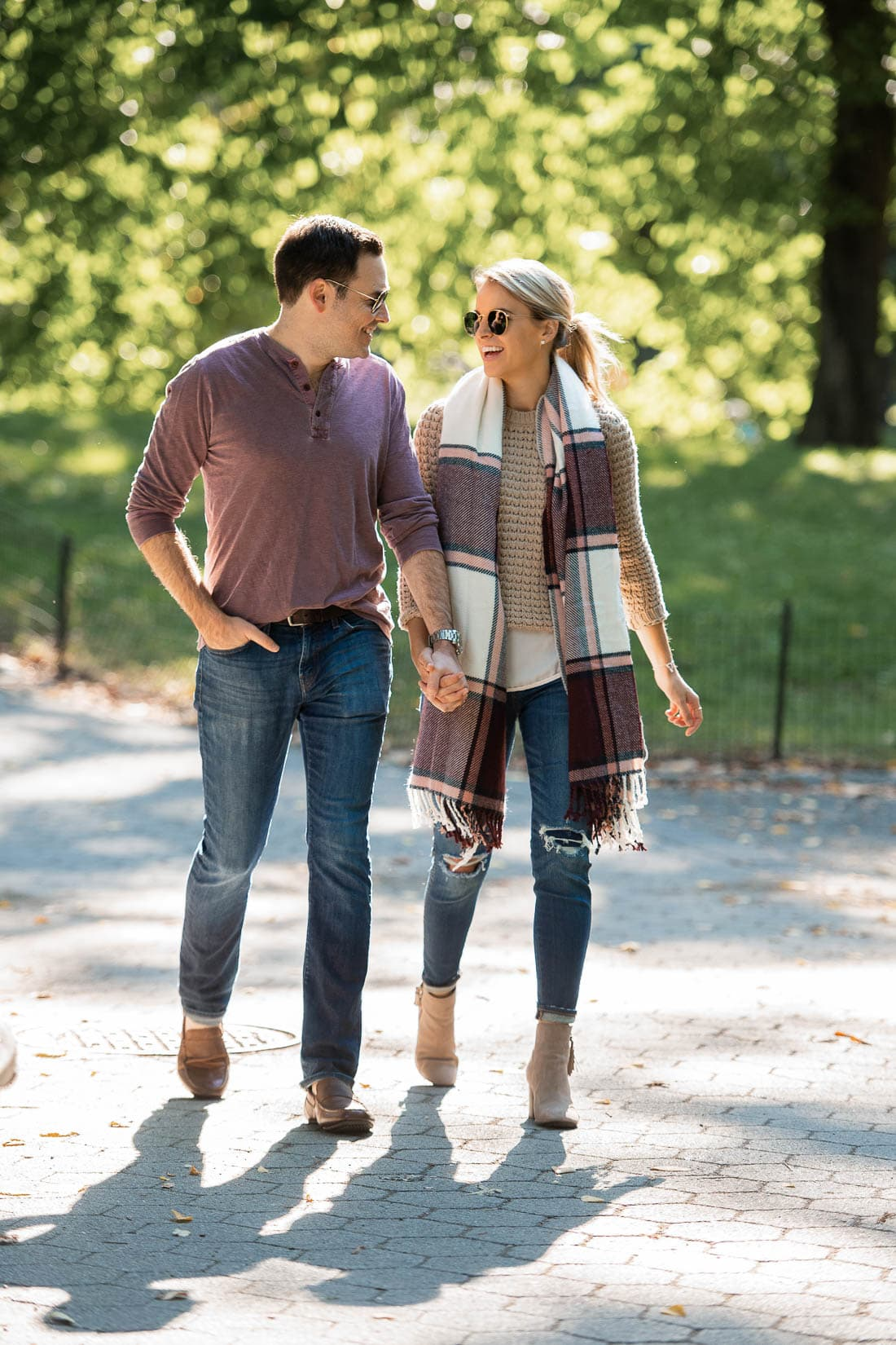 His and Her Fall Style
