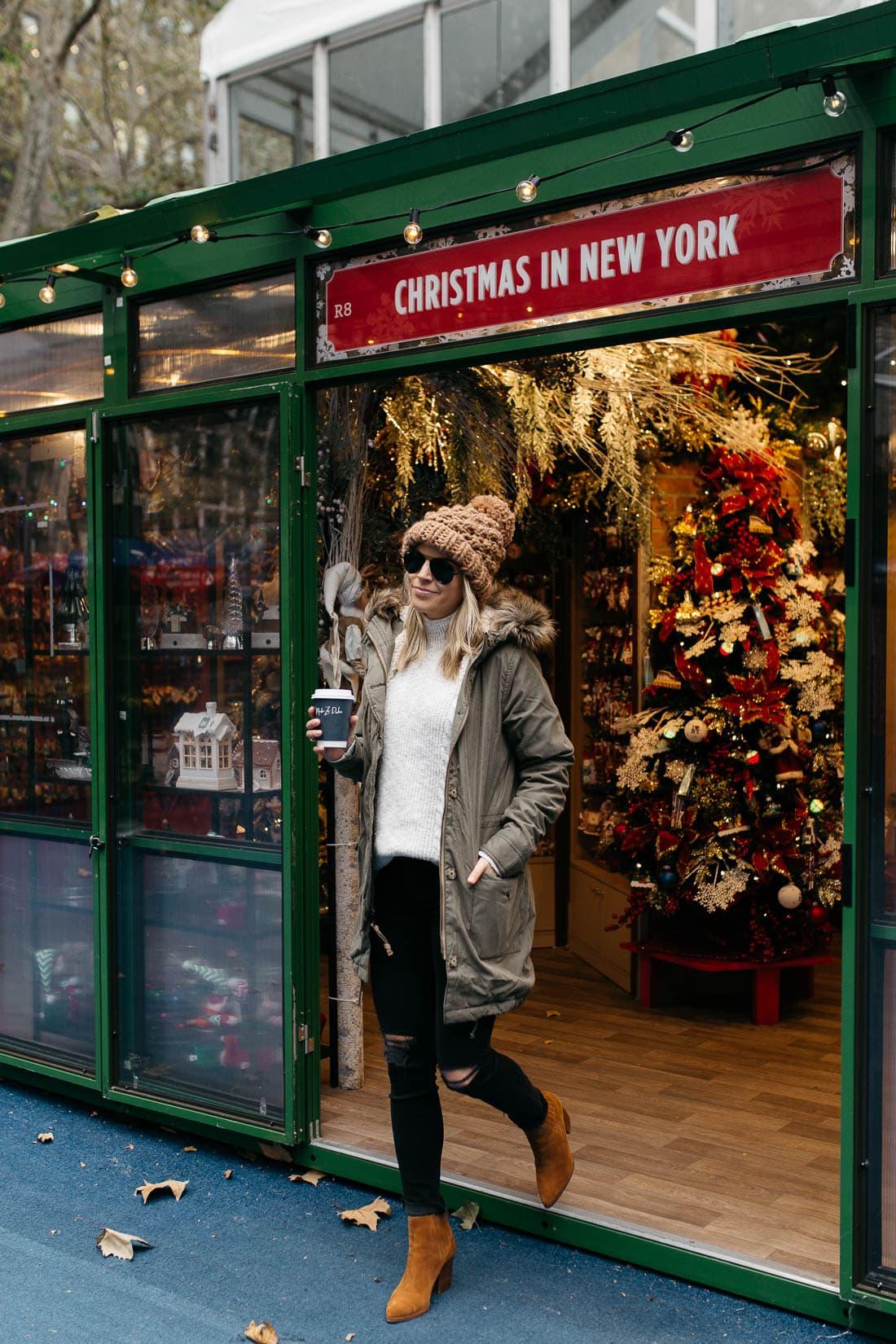 Bryant Park Holiday Shops