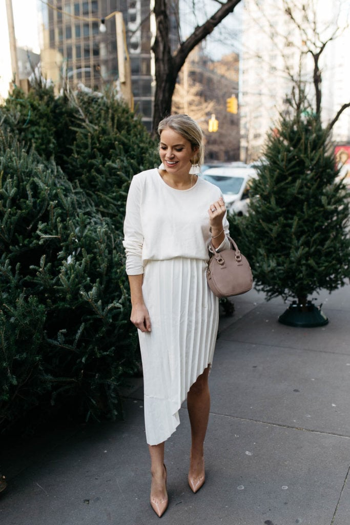 all white outfit inspo