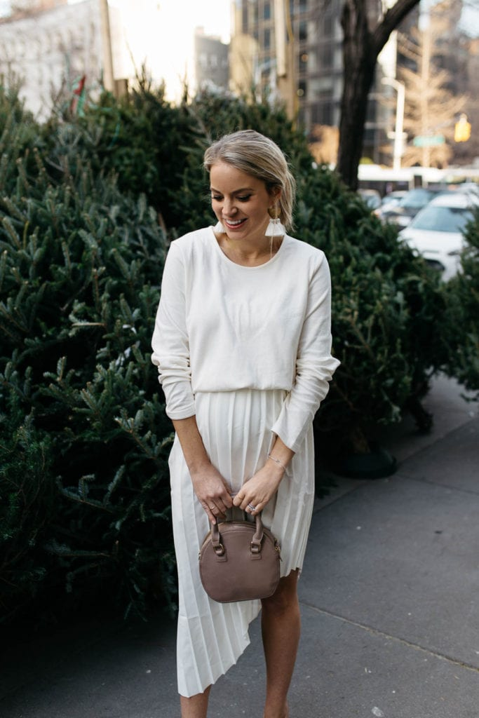 winter white outfit inspiration