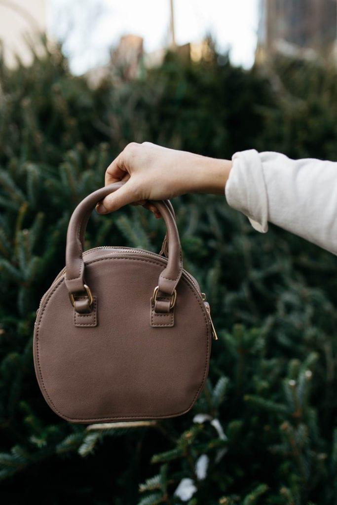 affordable leather bag