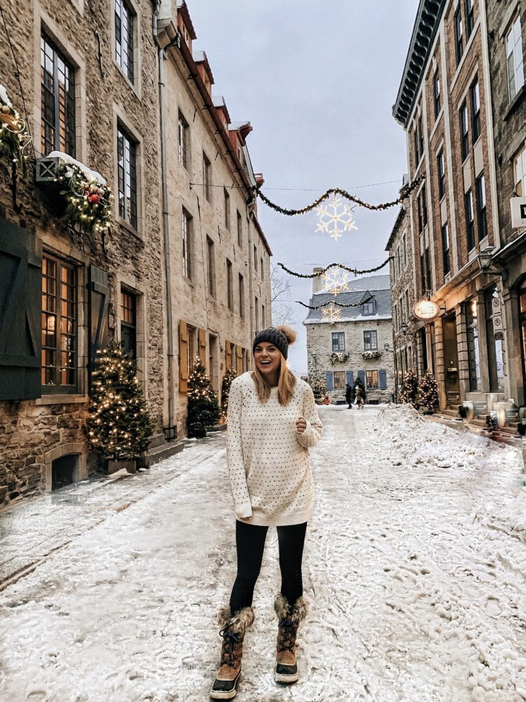 What to wear in Quebec City during the winter