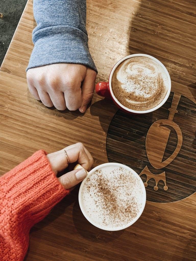 Quebec City best hot chocolate