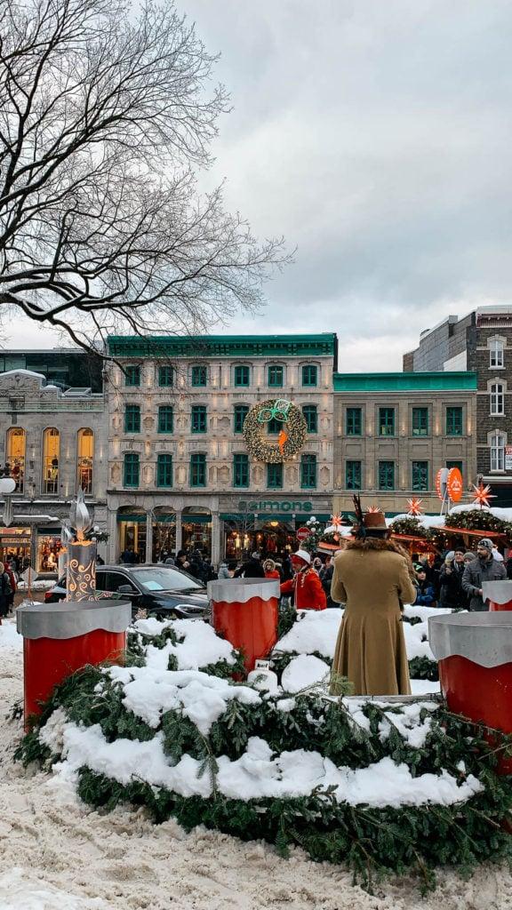 Quebec German Christmas Market