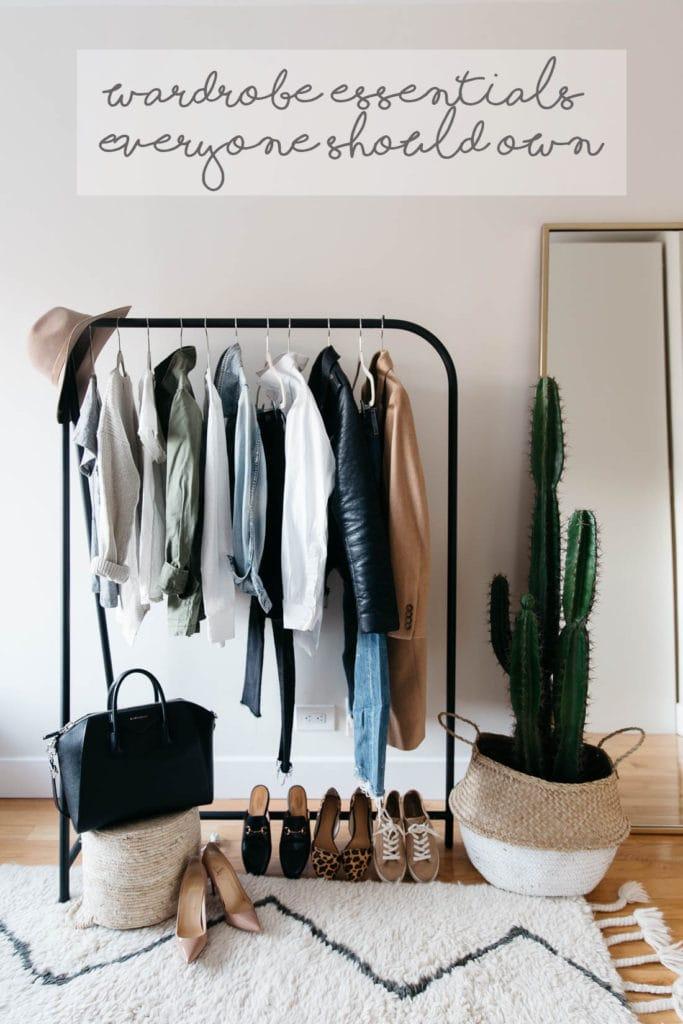 wardrobe essentials everyone should own