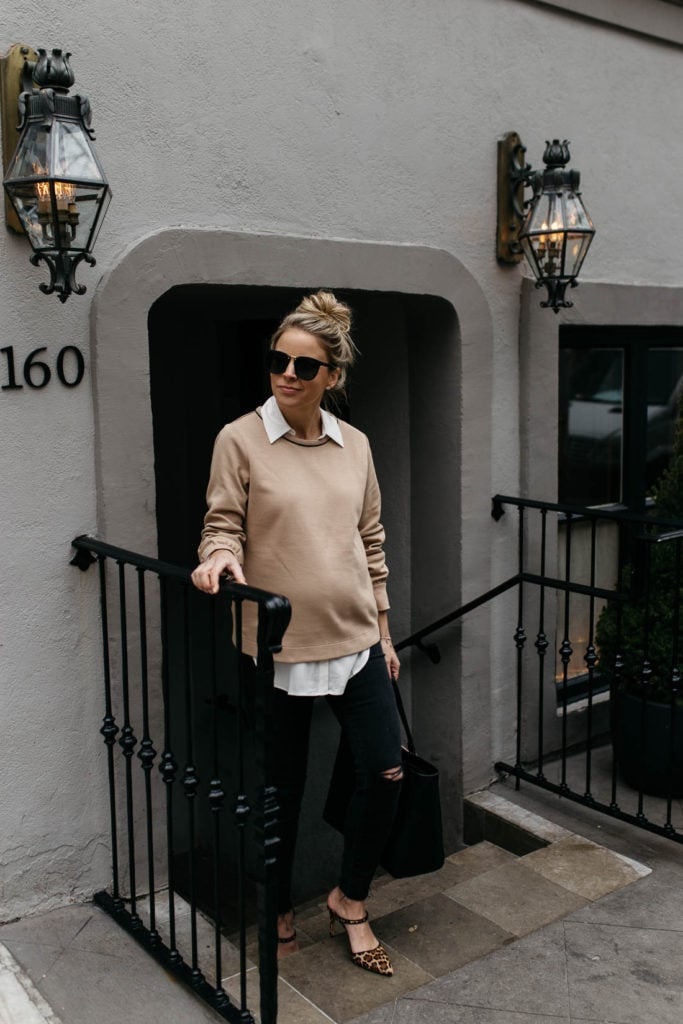 pregnancy outfit inspo