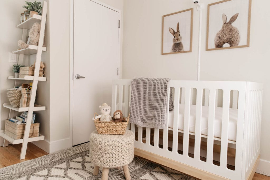 neutral nursery inspo