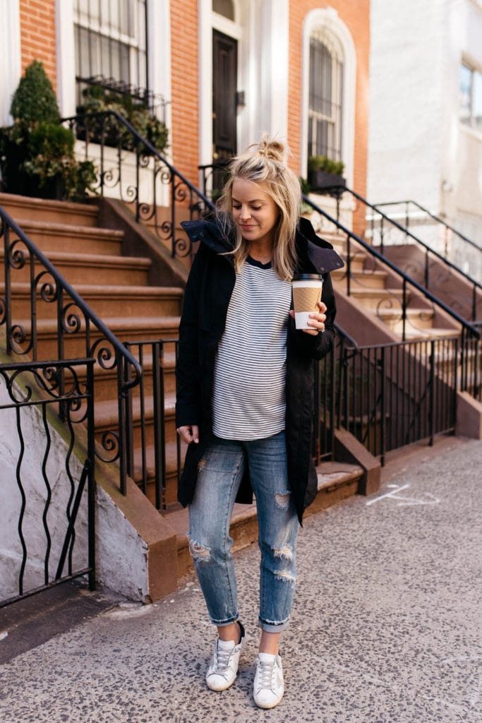 casual pregnancy style