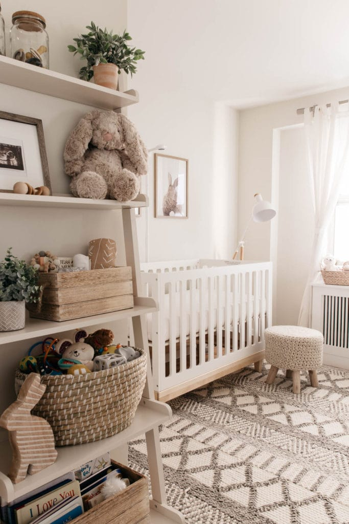 Gender Neutral Nursery Reveal Styled