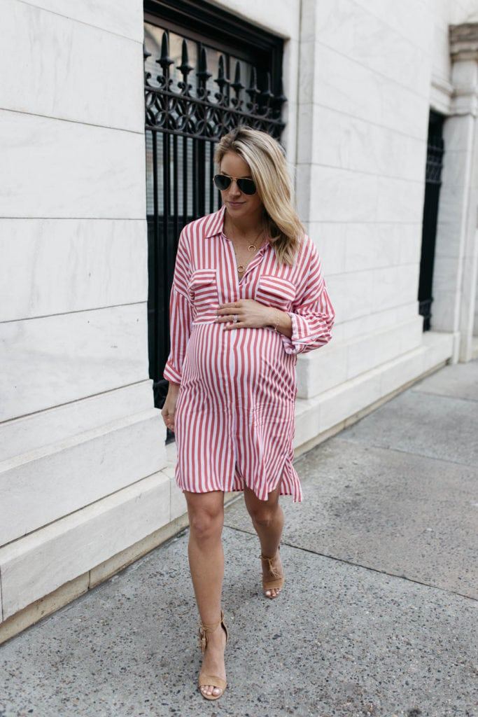 summer pregnancy style