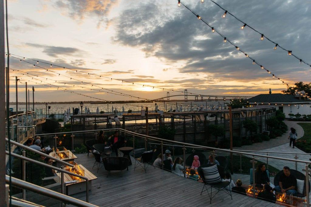 Best sunset in Newport RI