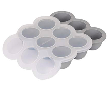 2.5oz silicone freezer tray