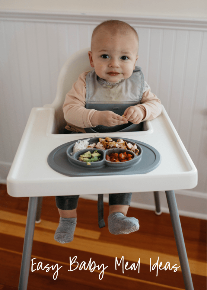 easy baby meal ideas