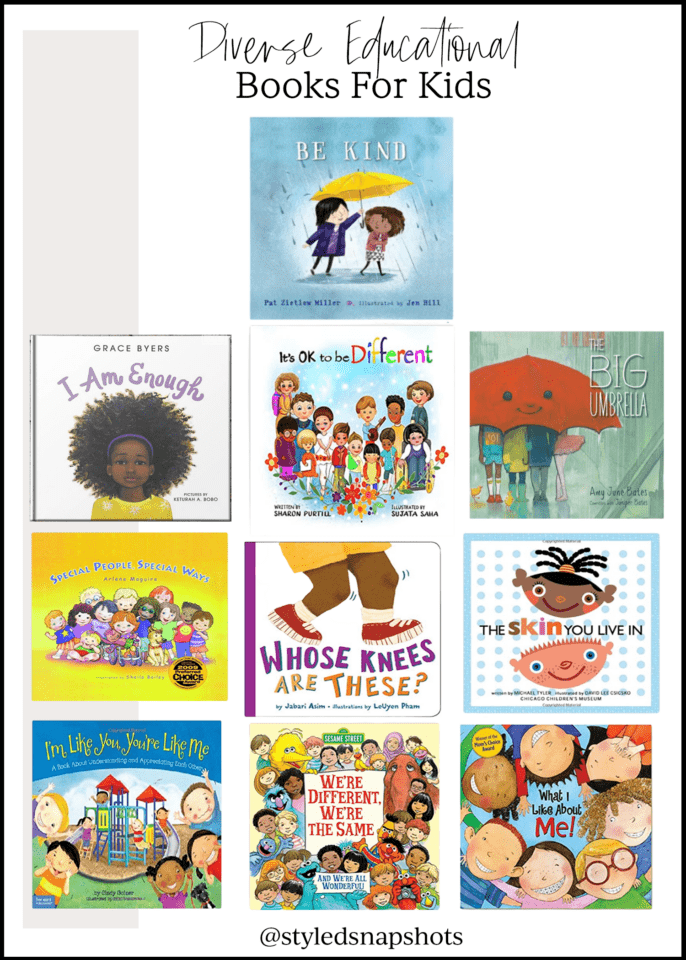 Diverse Kids books