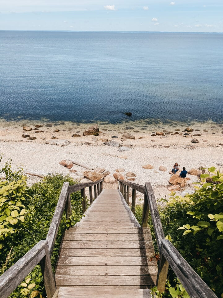 67 steps beach